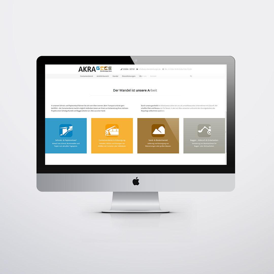 AKRA Website
