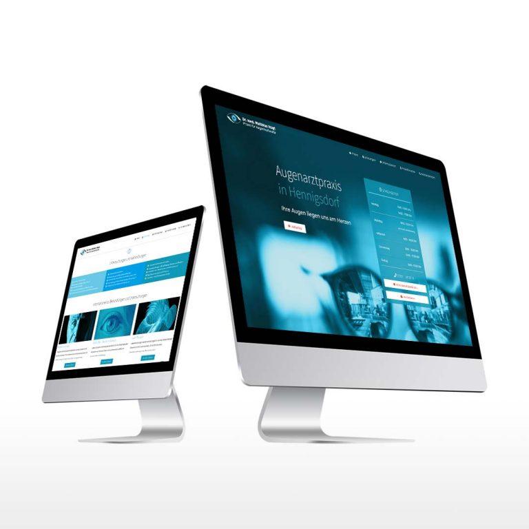 Augenarzt Voigt Website Redesign