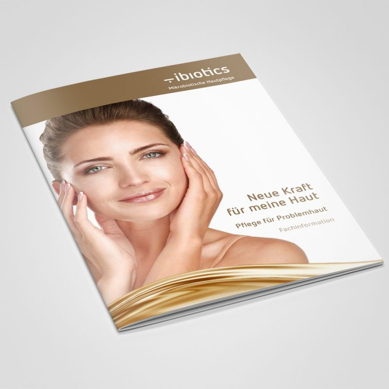 BELANO ibiotics beauty Broschuere Titel