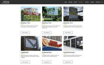 Bauschildcenter Website