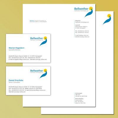Bellwether Corporate Design Geschäftsausstattung