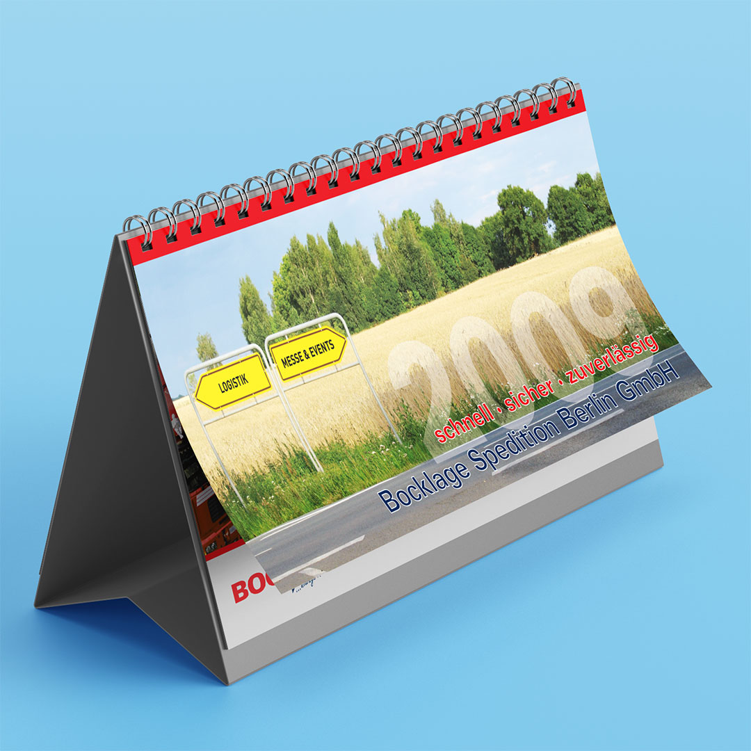 Bocklage Tischkalender