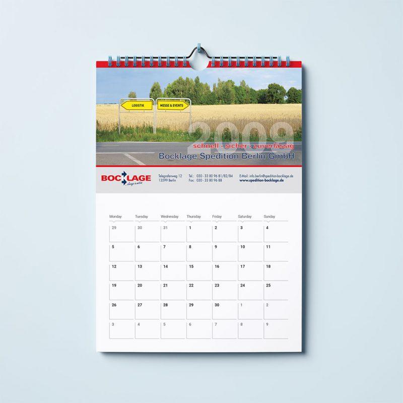 Bocklage Wandkalender