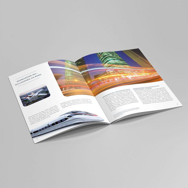 Bombardier Broschüre