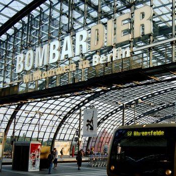 Bombardier Profilbuchstaben