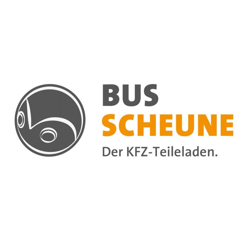 Bus Scheune Corporate Design Logo