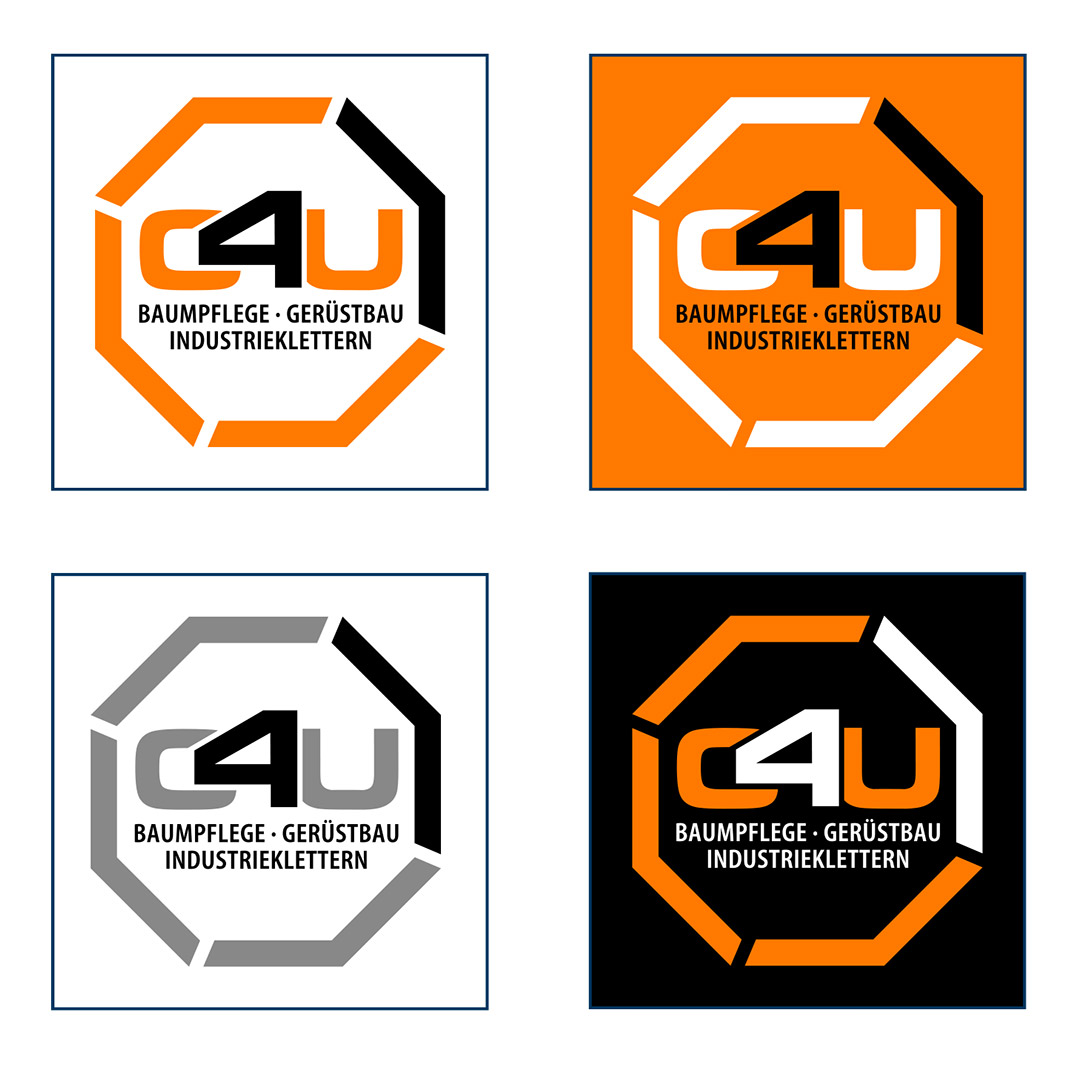 C4U Corporate Design Logovarianten