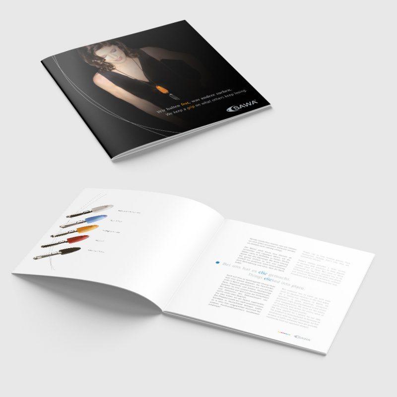 CSAWA Corporate Design Broschuere 1
