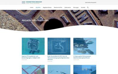 Eigenbetrieb Abwasser Hohen Neuendorf Website