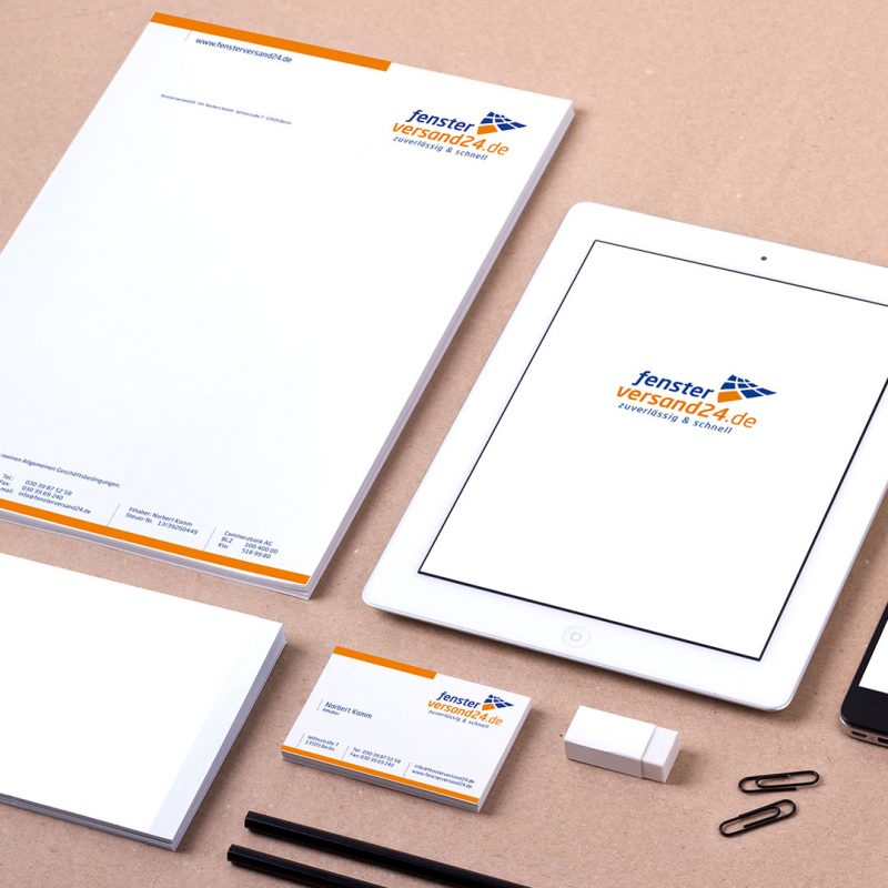 Fensterversand24 Corporate Design