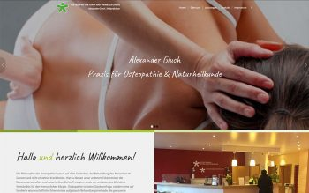 Gluch Osteopathie Website