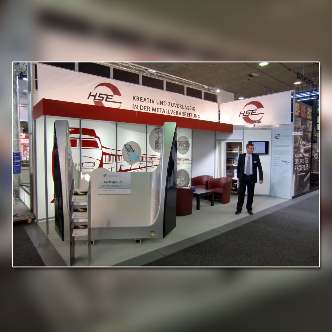 HSE Messestand Innotrans