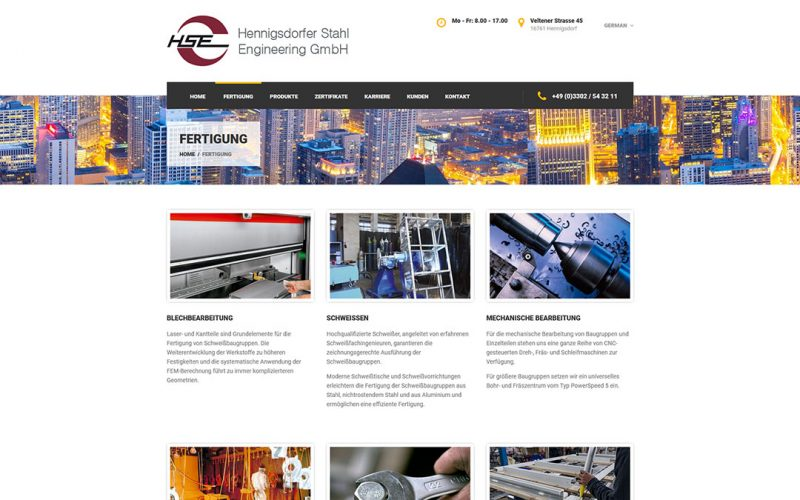 HSE Website