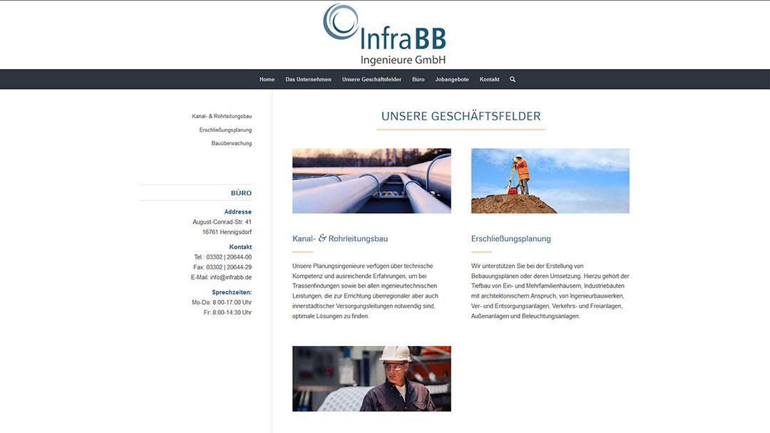 InfraBB Website