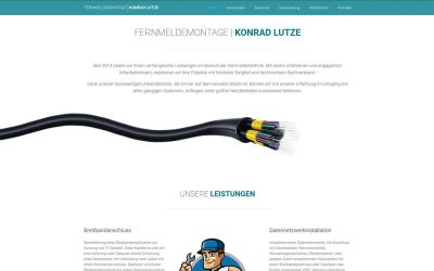 Konrad Lutze Website