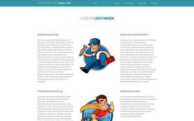 Konrad Lutze Website