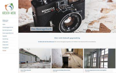 Kreativ-Werk Hennigsdorf Website
