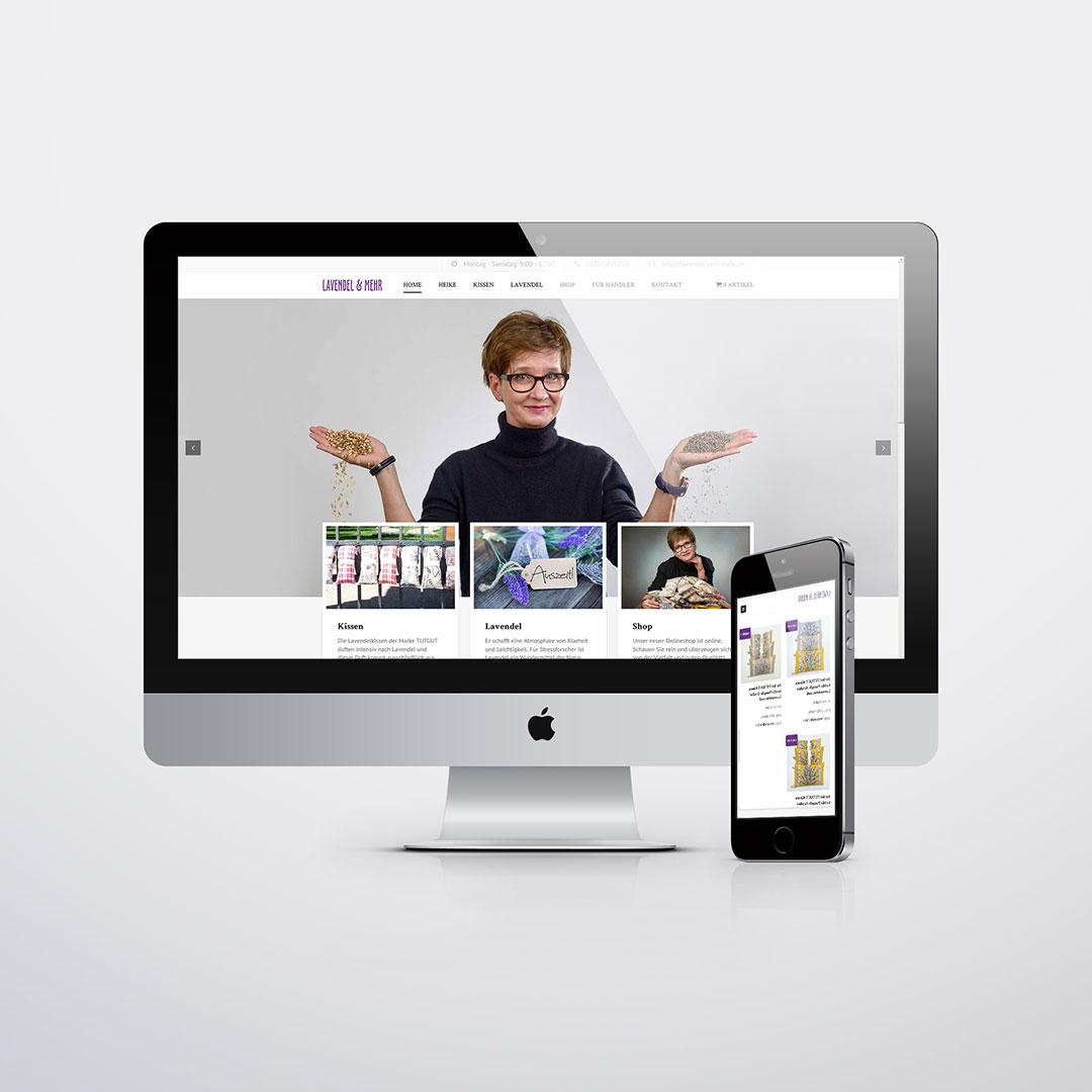 Lavendel und mehr Wendland Website
