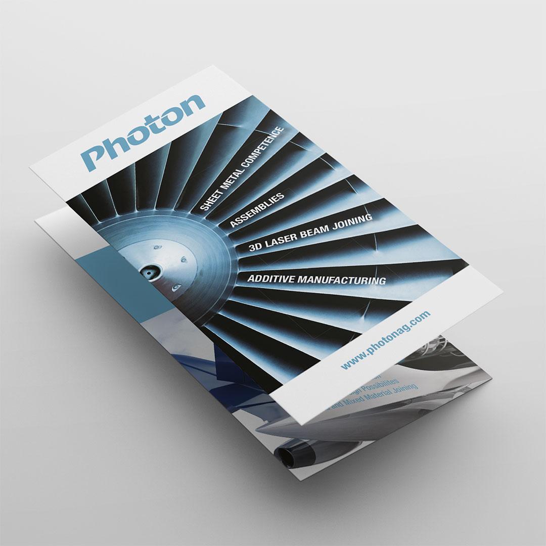 Photon AG Flyer