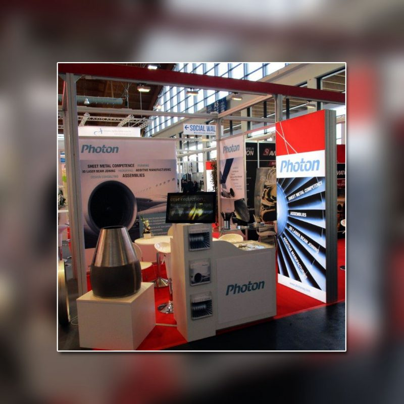 Photon AG Messestand