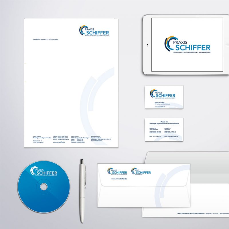 Praxis Schiffer Corporate Design
