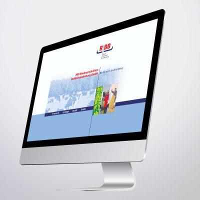 RBB Rinderproduktion Corporate Design Web