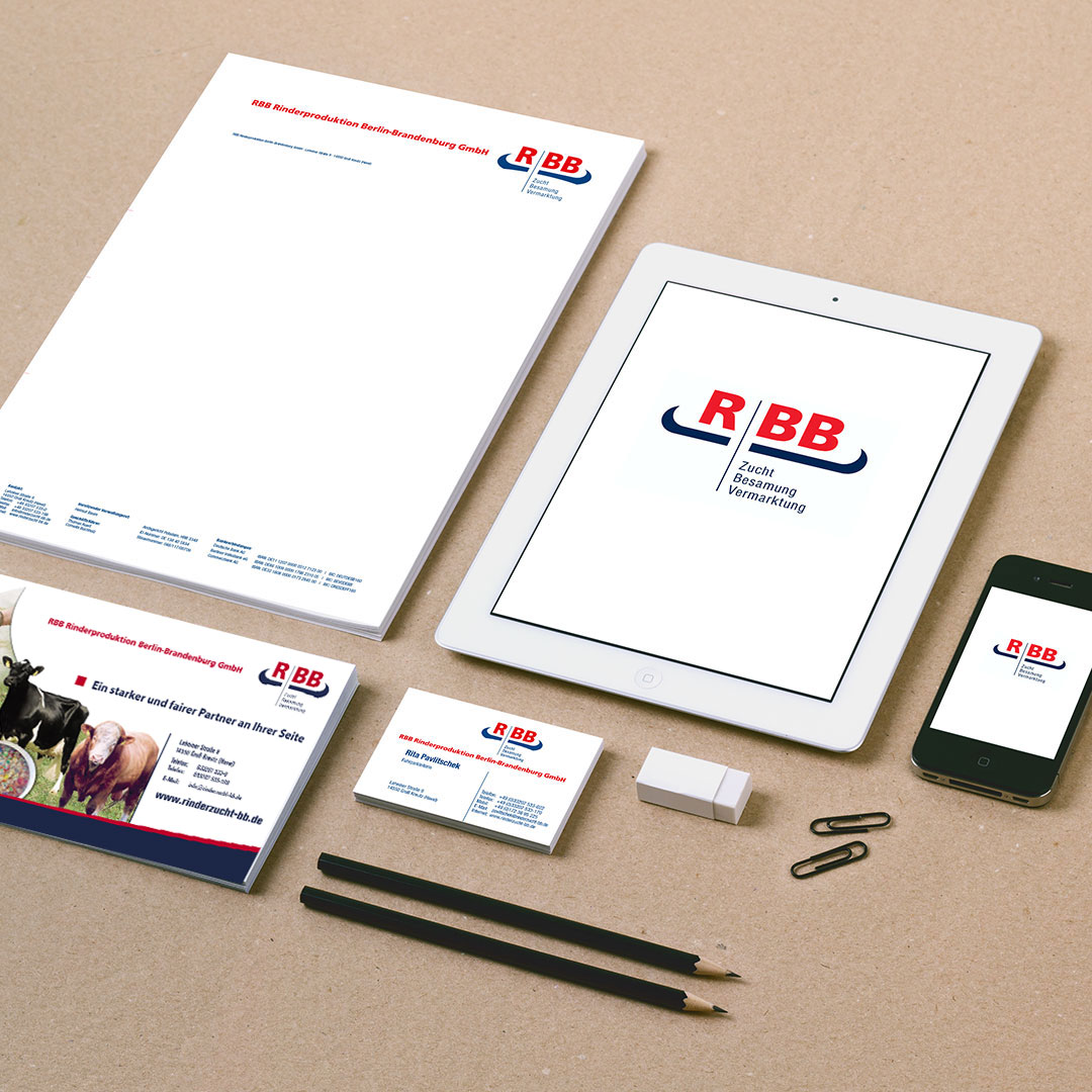 RBB Rinderproduktion Corporate Design