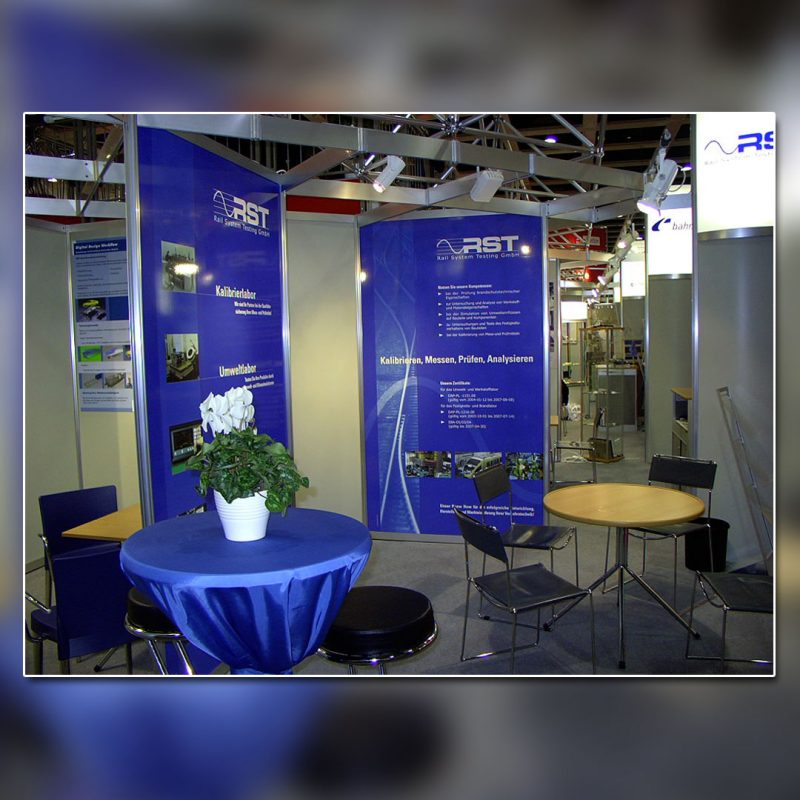 RST Messestand Innotrans