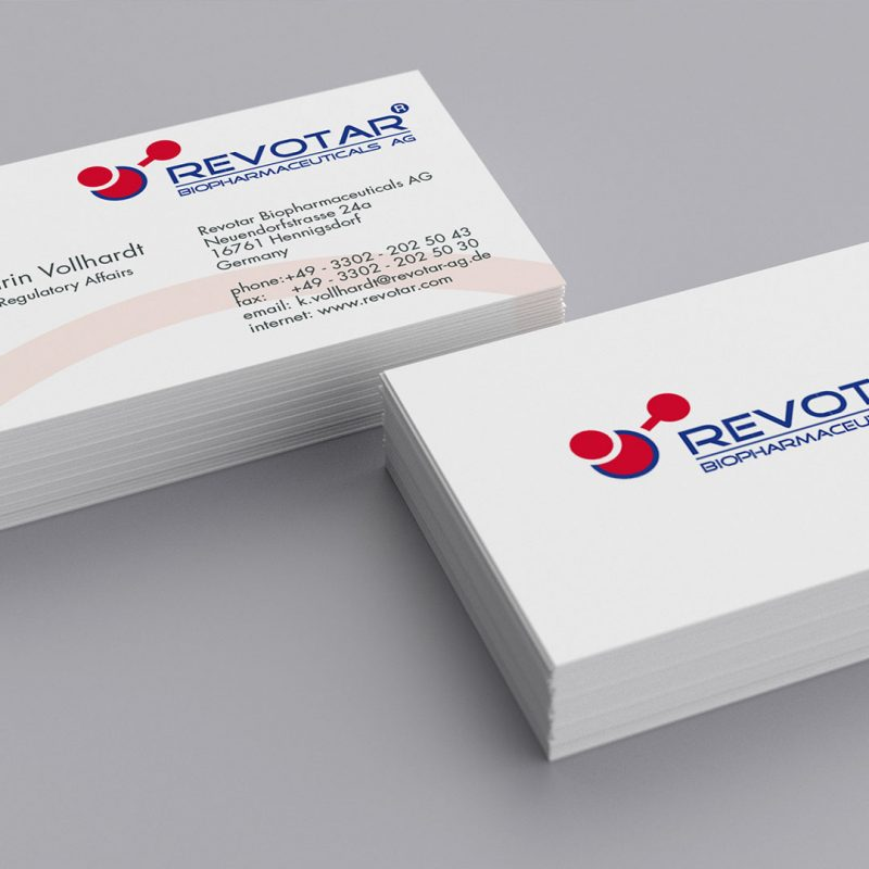 Revotar Corporate Design