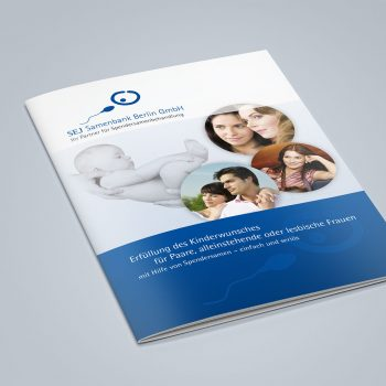 SEJ Samenbank Berlin Website und Drucksachen