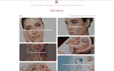 SR Kosmetik Website