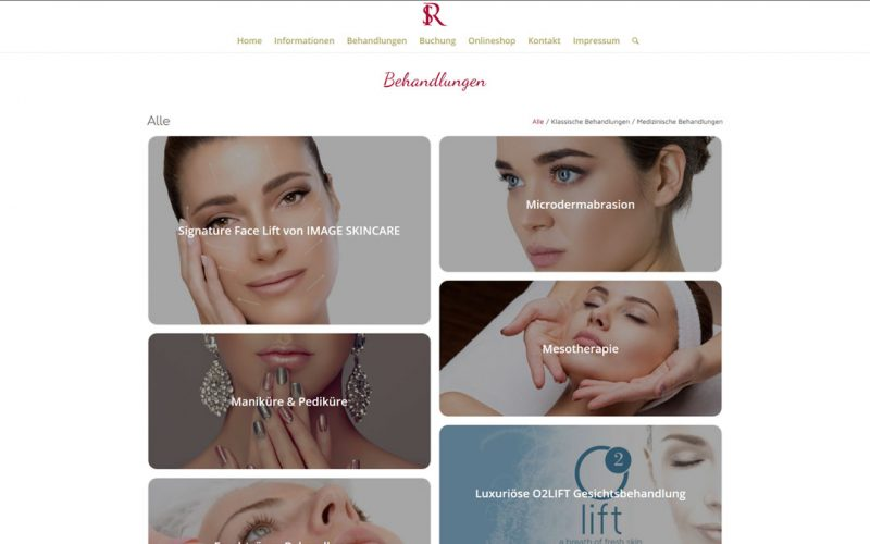 SR Kosmetik Website