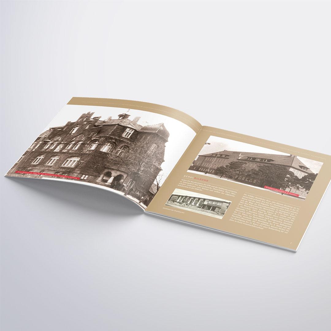 Stadtverwaltung Hennigsdorf - Broschüre und Ausstellung Stadtrecht