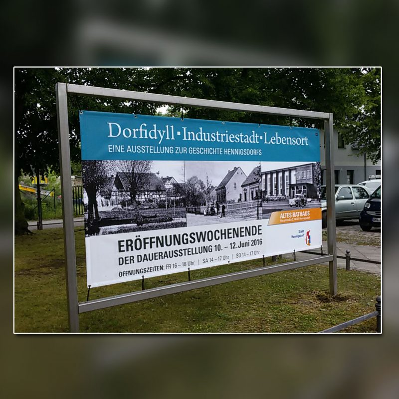 SV Hennigsdorf Dorfidyll Banner
