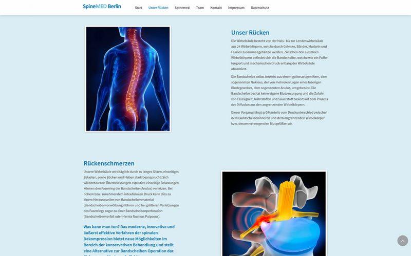 Spinemed Website