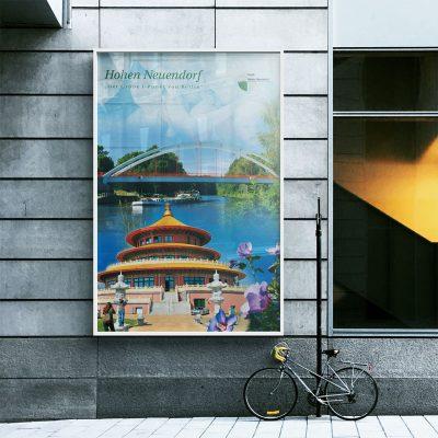 Stadt Hohen Neuendorf Plakat Außenwerbung