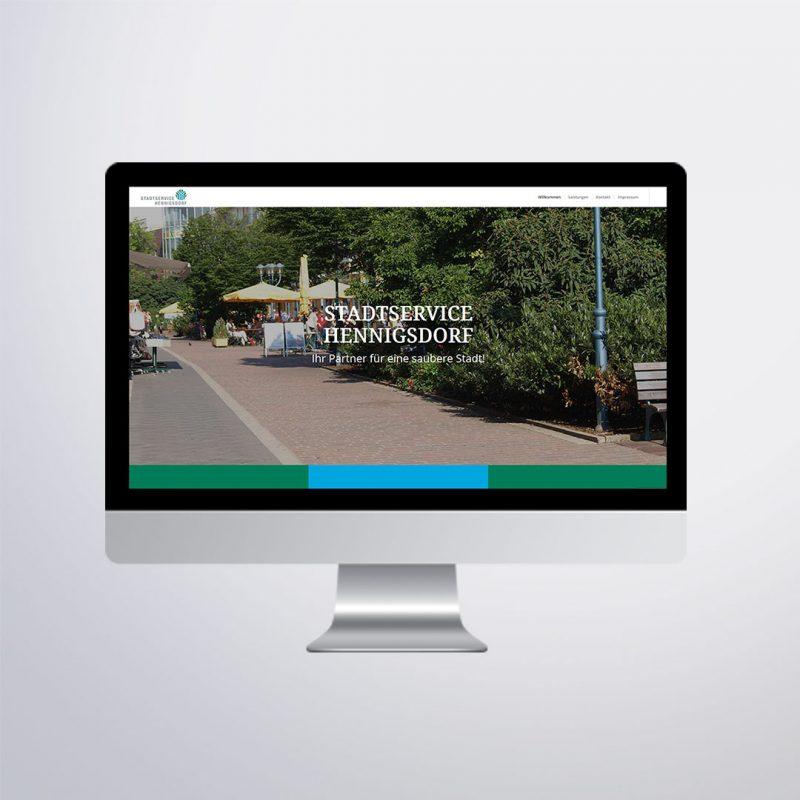 Stadtservice Hennigsdorf Website