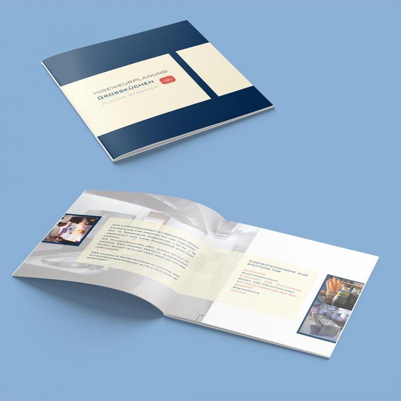 Stechhan Corporate Design Broschüre