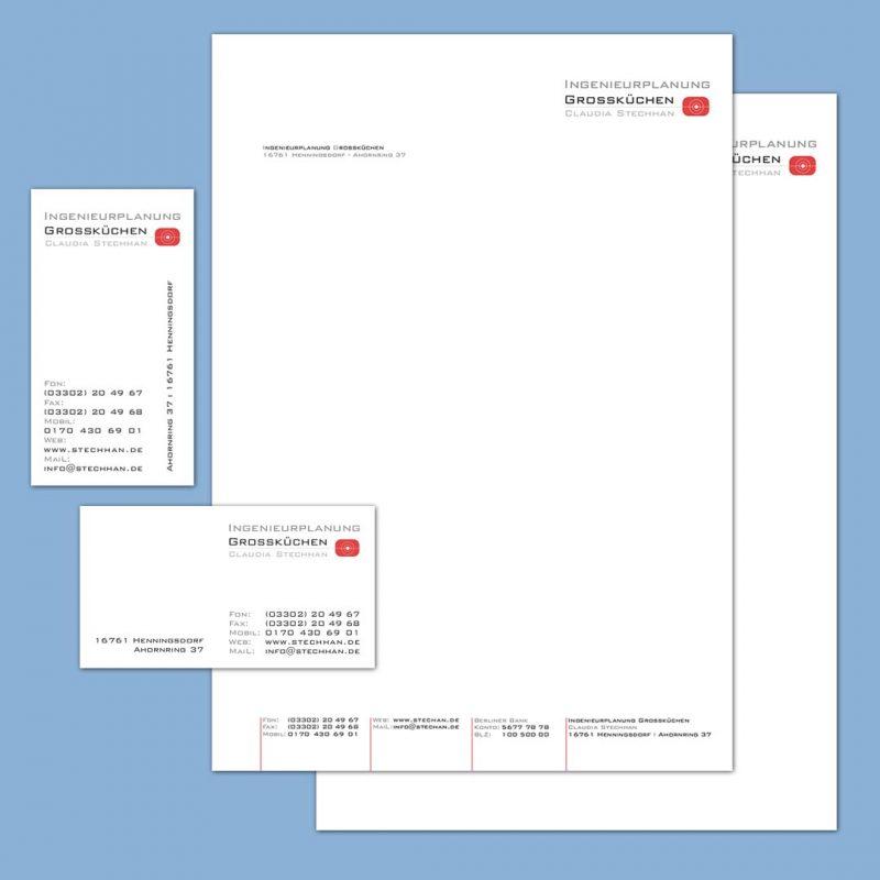 Stechhan Corporate Design Geschäftsausstattung
