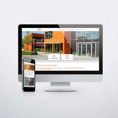 Strittmatter-Gymnasium Gransee Website