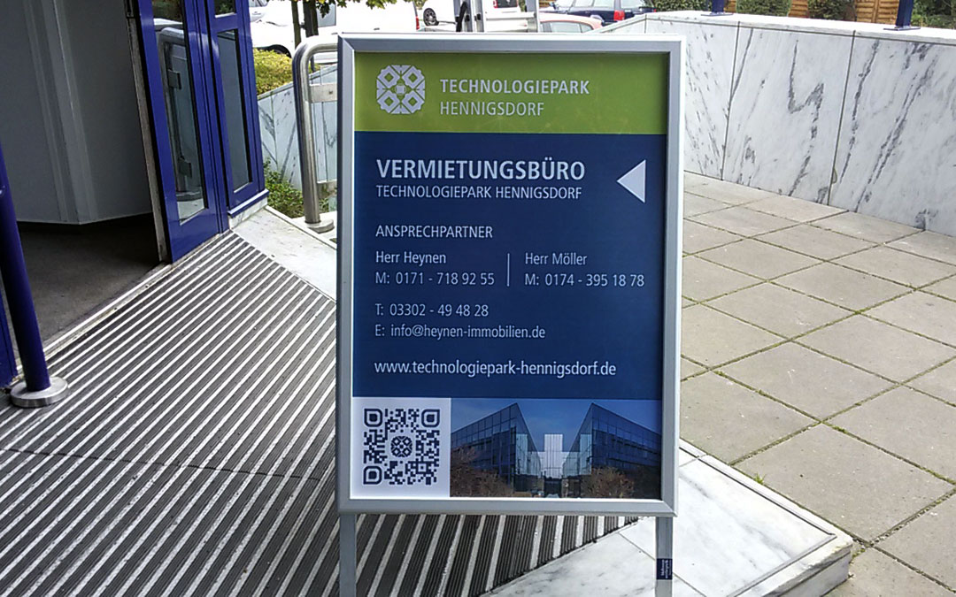 Technologiepark Hennigsdorf Plakat