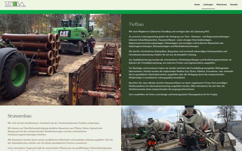 Tiesla Website