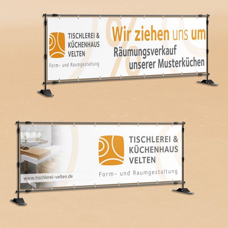 Tischlerei Velten Banner