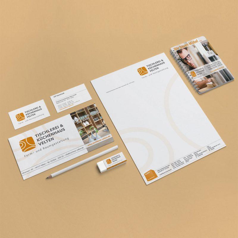 Tischlerei Velten Corporate Design