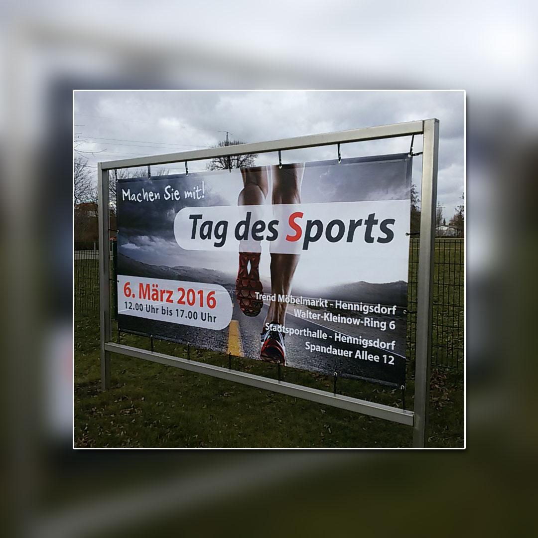 Trend Möbelmarkt Medienkampagne Banner