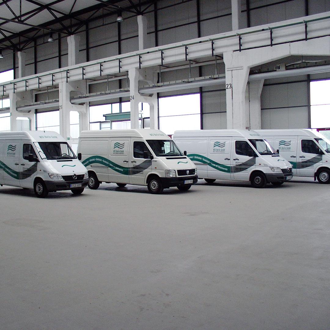 WSI Corporate Design Fahrzeugbeschriftung