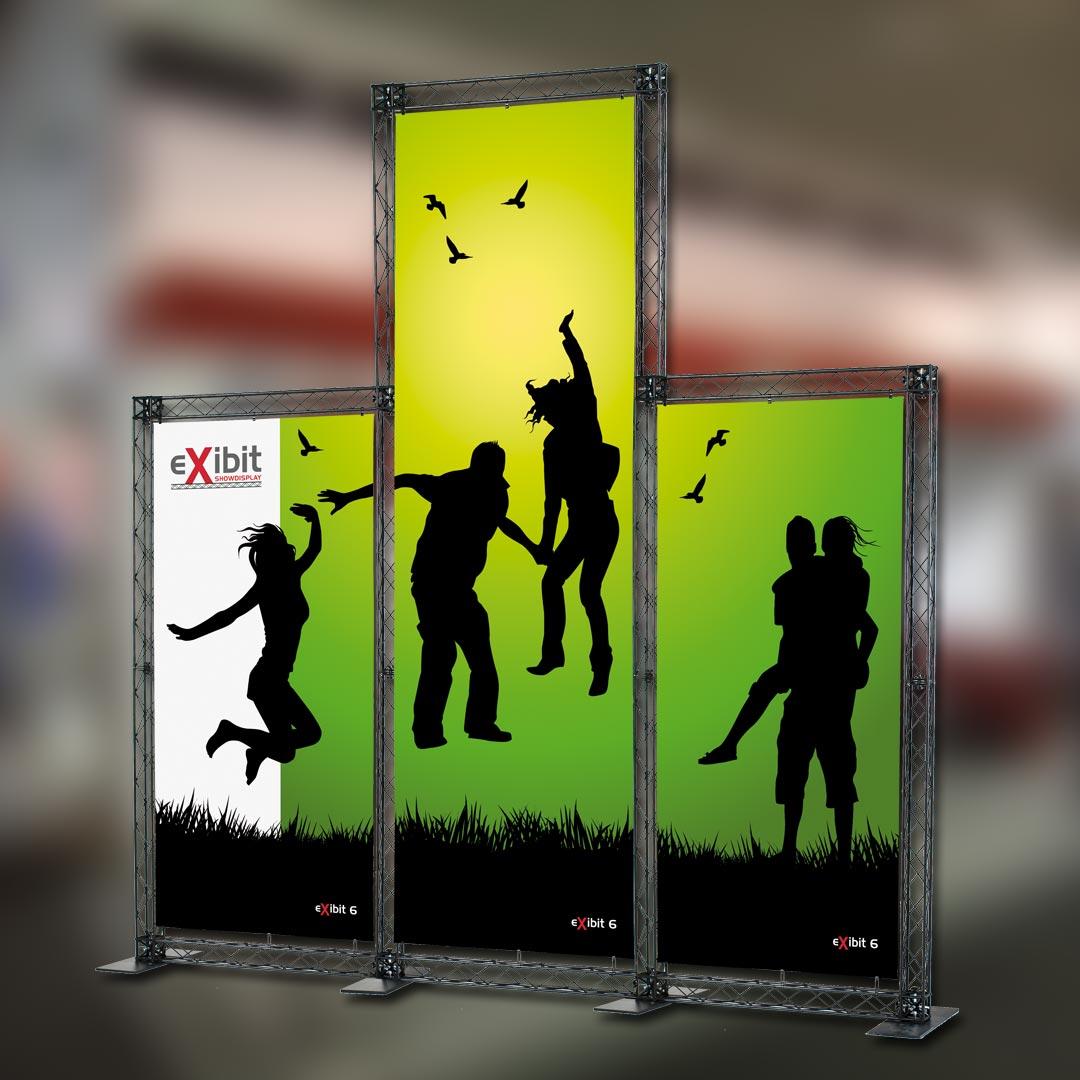 Werbesysteme Bannergestell Expowand