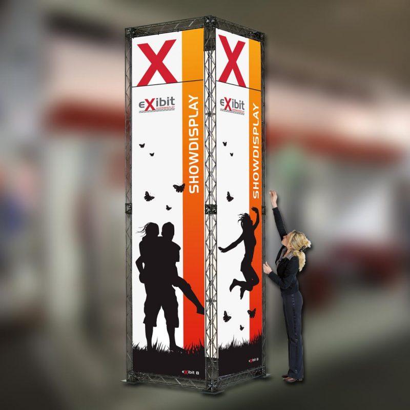 Werbesysteme Bannergestell Turm