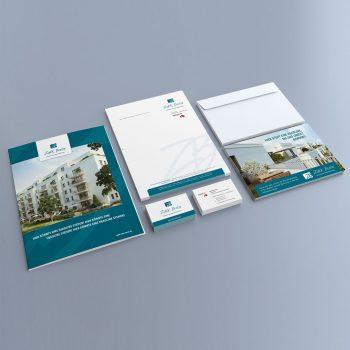 ZAKK Corporate Design Geschäftsausstattung
