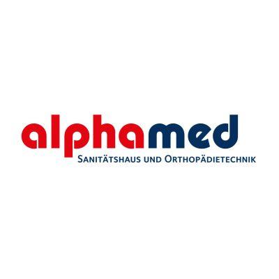 alphamed Corporate Design Logo